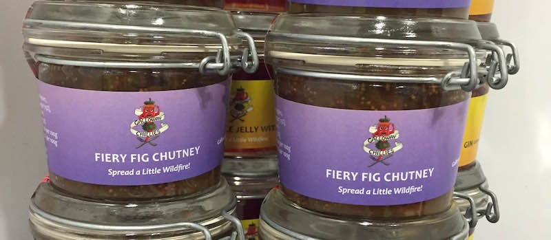Fiery Fig Chutney