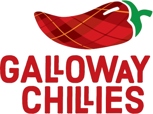 The new logo for Galloway Chillies
