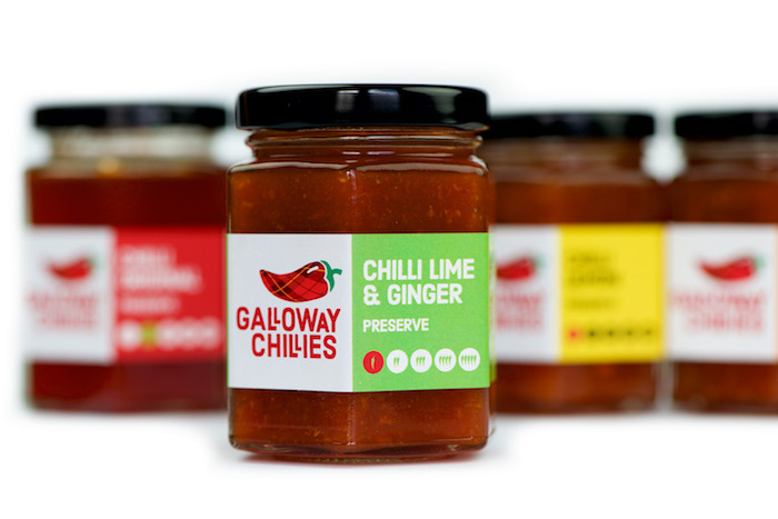 Galloway Chillies Lime and Ginger