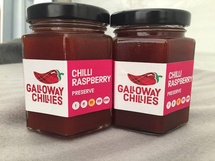 Galloway Chillies Raspberry